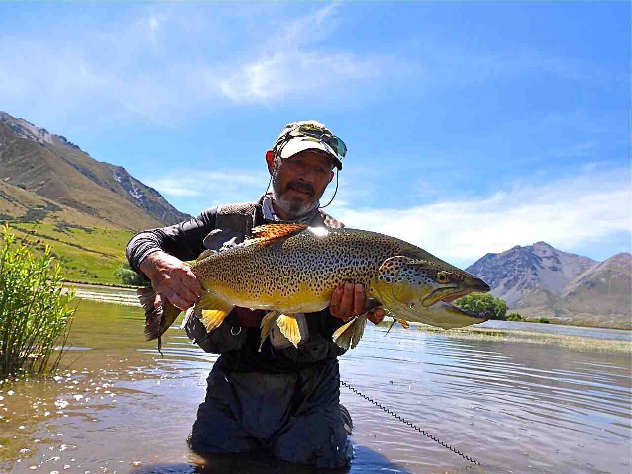 Fly Fishing – Ahuriri River Lodge